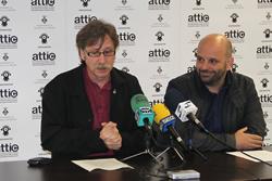 Tomàs Álvaro i Pep Torres han presentat Attic 2010