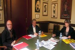 En aquesta ocasió la trobada s'ha fet a Vilafranca