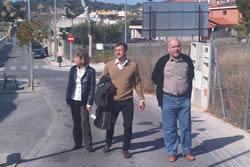 L'alcaldessa Neus Lloveras i el regidor Joan Giribet van visitar el Fondo Somella i Can Xicarró