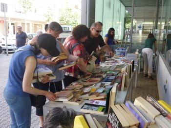 El Mercat d'Intercanvi de Llibres és un èxit any rere any