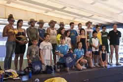 Participants de la Travessada Port i mini Aquatló
