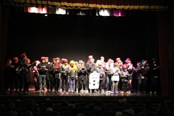'No fem soroll, fem cultura', un dels temes més recurrents als Coros d'en Carnestoltes aquest 2017