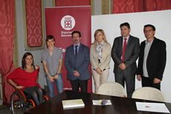 La presentació de la jornada s'ha fet aquest matí a Vilanova i la Geltrú