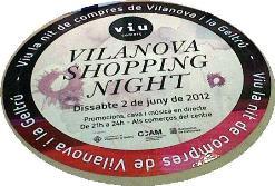 Logotip de Vilanova Shopping Night