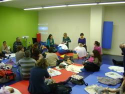 El taller va incloure una part teòrica i una pràctica
