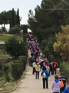 Passejada gent gran, 9 de març de 2016 VNG