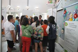 El taller es fa a l'escola Sant Jordi fins dimecres