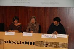 L'Ajuntament, va afirmar Neus Lloveras, ha de facilitar la tasa de les persones emprenedores