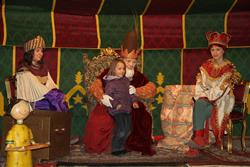 L'Eliseu rebent una carta per als Reis d'Orient