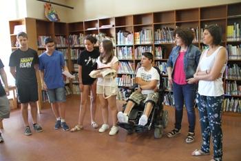 El lliurament de premis s'ha fet a la biblioteca Joan Oliva