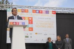 El passat 12 d'octubre Vilanova va acollir la celebració del Dia de la Salut Mental