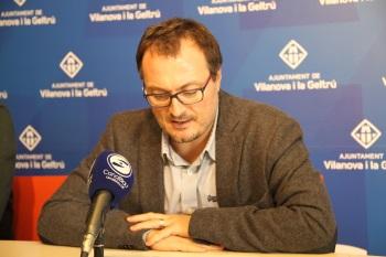 El portaveu del Govern, Juan Luís Ruiz