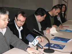 La signatura es va formalitzar al Centre Cívic de La Collada - Els Sis Camins