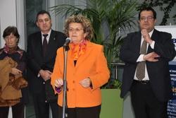 La consellera de Salut, Marina Geli al CAPI de Baix-a-Mar