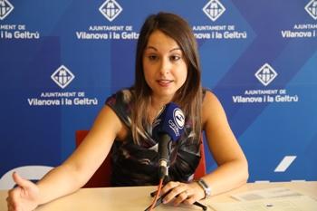 La regidora Gisela Vargas ha presentat l'estudi als mitjans de comunicació