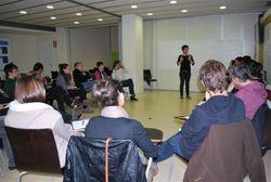La sessió va reunir una vintena de representants d'entitats infantils i juvenils