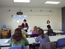 Imatge d'un dels cursos del CUM, el 2009
