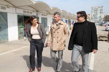 Visita delegat de la Generalitat a BCN, Port
