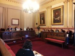 El Consell es va dur a terme al saló de Plens de l'Ajuntament
