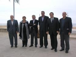Els sis alcaldes dels municipis del Garraf