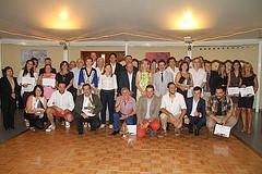 Autoritats i premiats en la 3a Nit del Turisme i del Comerç