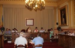 Sessió plenària de l'Ajuntament de VNG