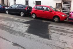 Imatge del carrer de la Pastera