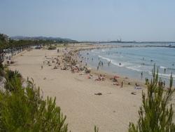 Les platges de Vilanova i la Geltrú destaquen per la seva qualitat