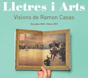 La xerrada s'inclou al cicle 'Lletres i arts. Visions de Ramon Casas'