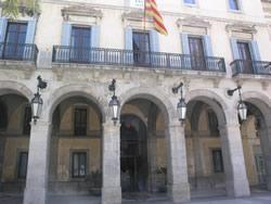 La ruta inclou una visita al Saló de Plens de l'Ajuntament