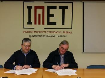 Signatura conveni IMET-EFAV