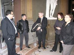 Josep Maria Carreté ha conegut la Biblioteca Museu Víctor Balaguer