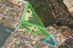 Els espais localitzats entre el carrer de la Turbina i el carrer del Margalló són dels prioritaris per començar a treballar