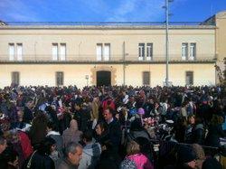 La plaça de les Casernes ha quedat petita per aquesta festa de participació ciutadana