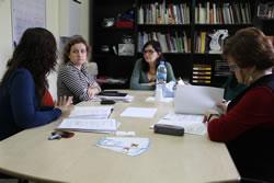 Durant la reunió s'ha parlat de l'atenció a la infància que ofereix el centre