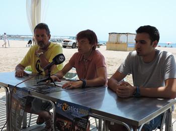 Jaume Martí, Blanca Albà i Iñaki (As de Guia)
