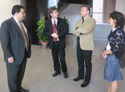 El secretari general de Governació va ser dissabte a Neàpolis
