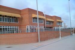 Imatge de l'exterior de l'escola Sant Jordi