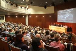 L'auditori de Neàpolis s'ha omplert