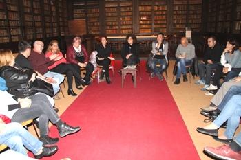 Una vintena d'expabordes es van trobar al Museu Balaguer