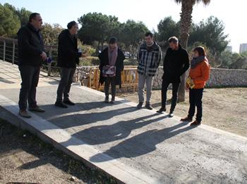 Amb les rampes el parc estarà adaptat a tot tipus de persones