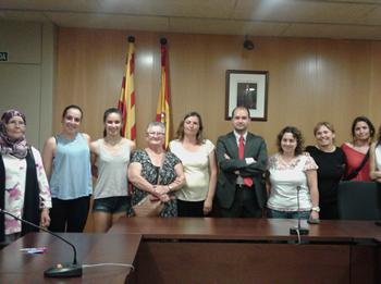 Visita al Jutjat de Violència contra les Dones de VNG