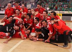 El Benfica campió de la Copa CERS
