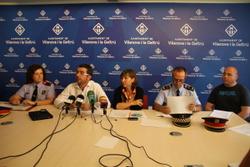 Màxima coordinació per garantir una revetlla cívica i segura