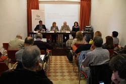 Presentació de l'acte a la Masia en Cabanyes