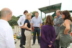 Els responsables de Dins Garraf han explicat el funcionament de la planta