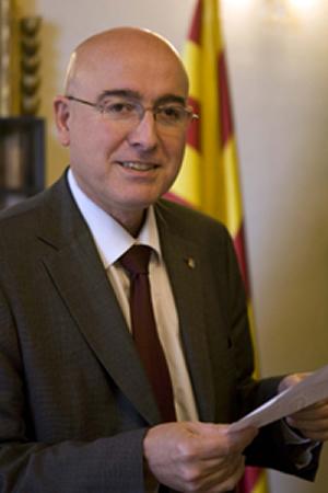 Joan Manuel Tresserras, conseller de Cultura i Mitjans de Comunicació