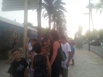Els nens i nenes van poder visitar la col·lecció de caravanes i veure un espectacle