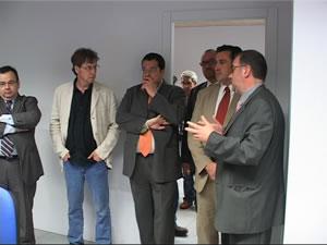 Visita del conseller Puigcercós a Neàpolis
