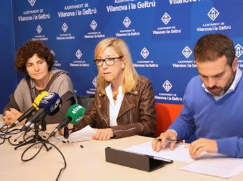 Teresa Llorens, Neus Lloveras i Gerard Llobet
